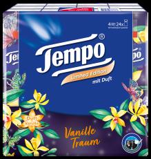 """Tempo Taschentücher mit Duft """"Vanille Traum"""""""