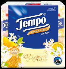 """Tempo Taschentücher mit Duft """"Honigblüte"""""""