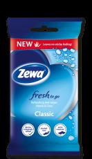 Zewa Fresh To Go Classic nedves kéz- és arctörlő kendő