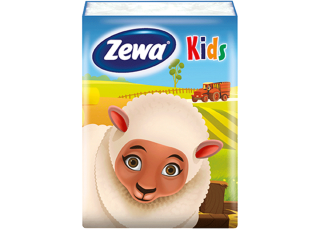 Zewa Deluxe Kids Sheep 1x9