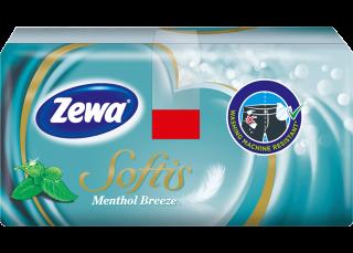 Zewa Softis Menthol Breeze 1x9
