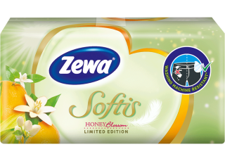 Zewa Softis Honey Blossom A 1x9