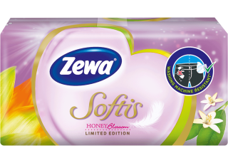 Zewa Softis Honey Blossom B 1x9