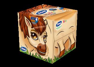 Zewa Kids Cube Horse